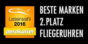 Beste Marke - Leserwahl Aerokurier 2016 2. Platz...